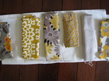Mustard quilt