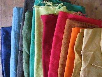 Rainbow-o-fabric