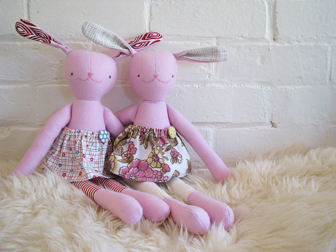 The Mary Frances Project: Jack Rabbit Softie - Free Pattern