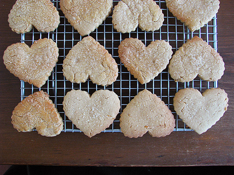 Heart-biscuits