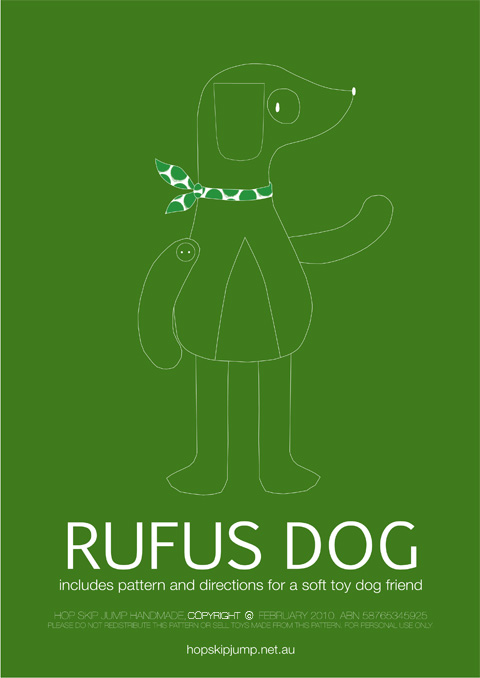Rufus Dog PatternPAGE1