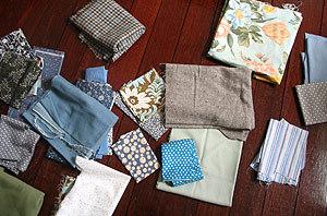 Bluebacktackfabric